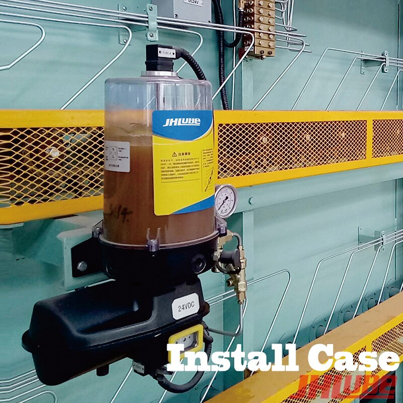 12V 24V 220V 380V 2L/4L/8L 1-6 salidas bombas de grasa Multi-línea progresiva sistema de lubricación aplicado a la máquina
