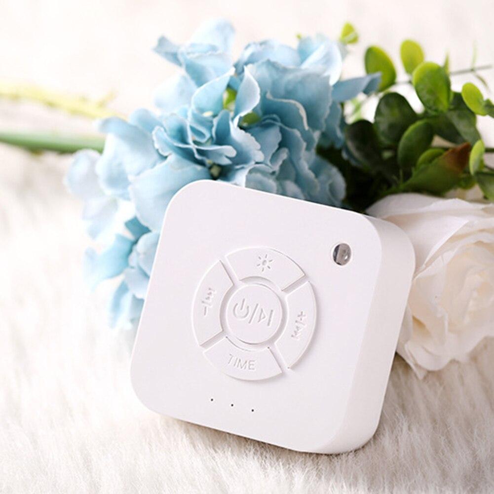 Luz de respiración para dormir recargable por USB apagado temporizado para bebés música máquina para dormir luz de noche para bebés adultos
