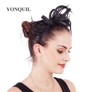 Formal Wedding Hair Fascinators Accessories Elegant Female Cocktail Race Headwear Gorgeous New Fashion Headdress For Female