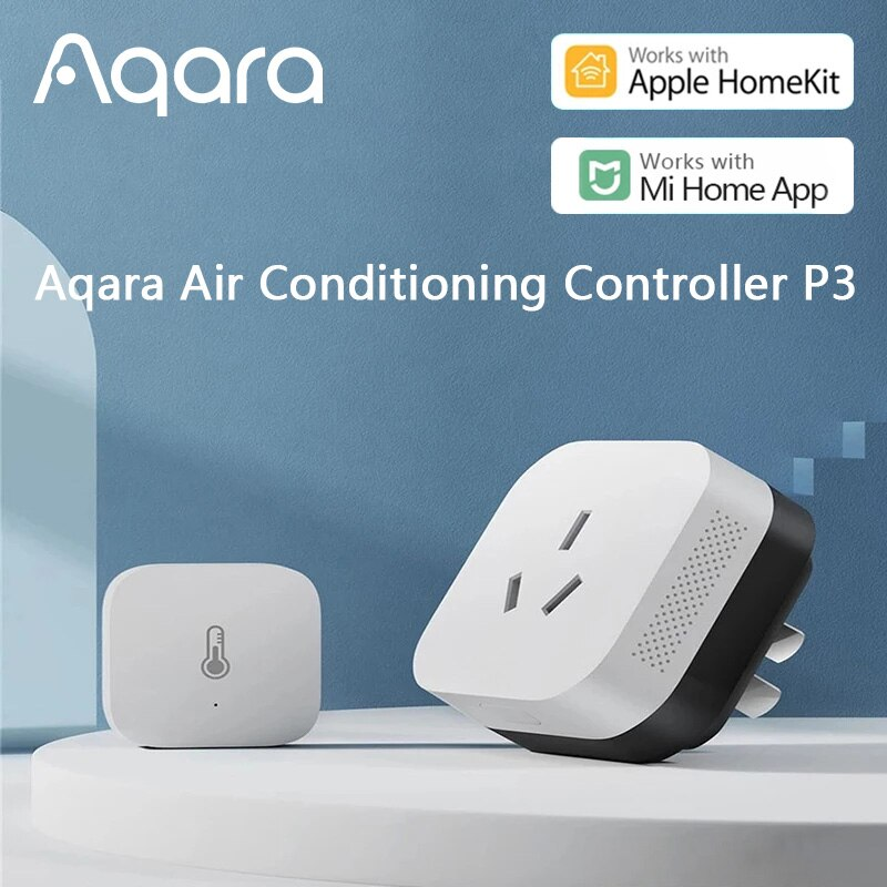 Aqara P3 Air Conditioning Companion With Temperature Humidity Sensor Gateway hub ZigBee wifi For Xiaomi mijia  apple Homekit датчик xiaomi aqara temperature humidity sensor wsdcgq11lm