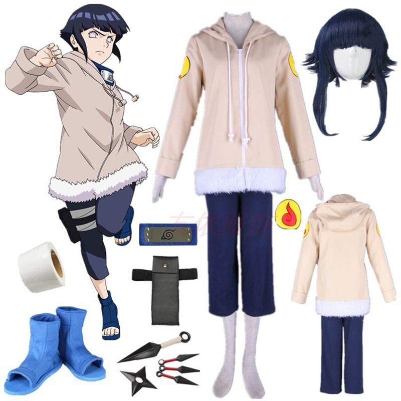 Naruto hyuuga hinata halloween cosplay traje trajes de halloween