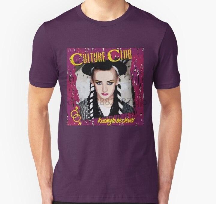 Men tshirt Culture Club 80s Retro Vintage 1980s Pop Unisex T Shirt women T-Shirt tees top