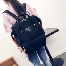 Preppy Style Backpack Women School Bags For Teenagers Girls Female Travel Shoulder Bags Korean Style Canvas Bagpack Rucksacks