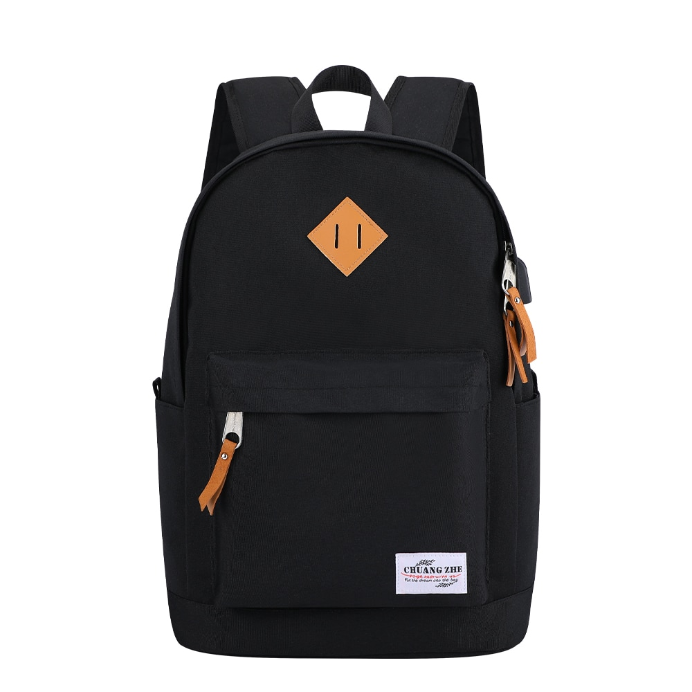 SenkeyStyle Backpacks for Men Women School Bag Large Capacity Fashion Oxford Casual Classic Simple G