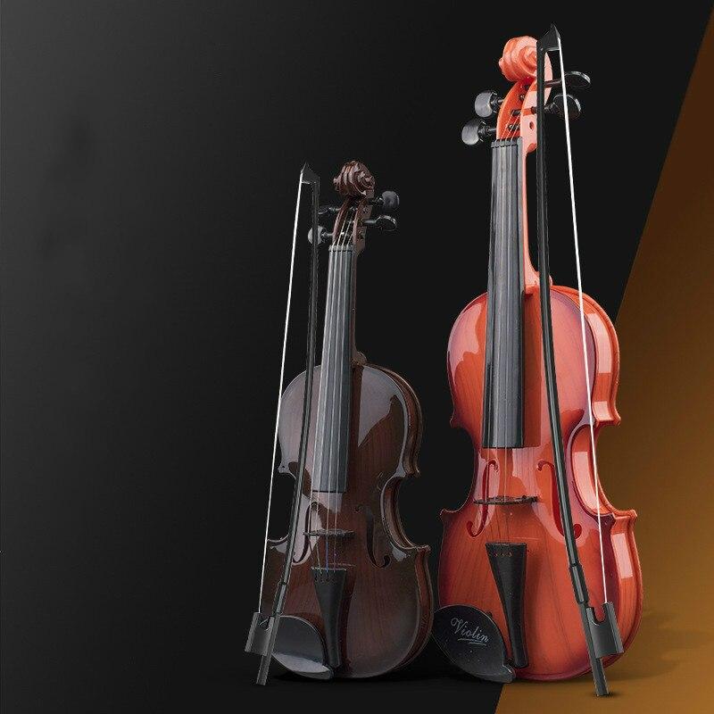 Enfants drôles enfants violon jouet enfants jouent violon fille garçon jouets musicaux bébé instruments de musique pour enfants musique débutant cadeau