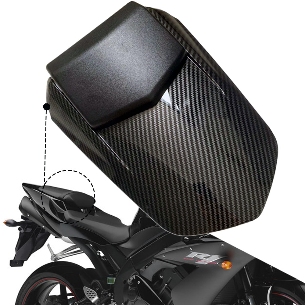 YZFR1 Rear Pillion Seat Cowl Fairing Motorcycle Seat Fairing Cover Tail Cowl Seat Cover For Yamaha YZFR1 YZF R1 YZF-R1 2004-2006