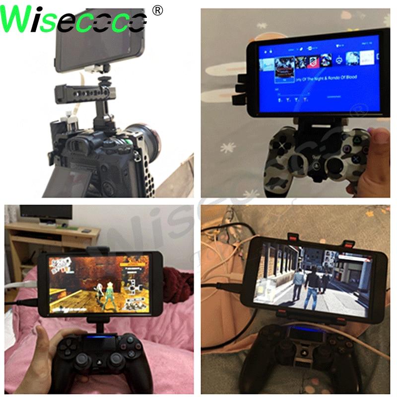 للكاميرا PS3 PS4 التوت بي صندوق التلفزيون صندوق أندرويد IPS 7 بوصة 1920x1080 جيب عرض لعبة وحدة التحكم مراقب