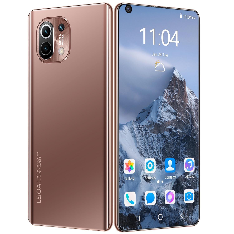 2021 M11 PRO شاشة كبيرة 7.3-inch 512G شاشة كاملة النسخة العالمية بطارية ذات سعة كبيرة 6800mAh فائقة طويلة عمر البطارية الهاتف