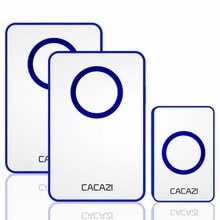 Wireless Doorbell DC battery-operated 120M Remote 36 Chime 4 Volume Waterproof Intelligent Home Cord