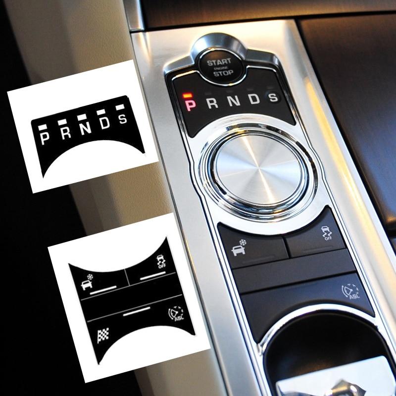 Car Gear Keyboard Sticker for Jaguar XF Accessories