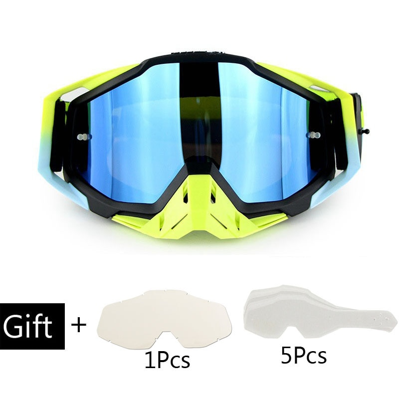 dustproof motocross glasses adjustable motorcycle goggles breathable full face protective dirt bike motorbike dirt bike off road Motocross Helmet Goggles Atv Off Road Goggles Dirt Bike Glasses Dustproof Gafas Moto Cross Brillen Motorcycle Glasses Sets