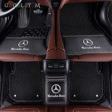 Tapis de sol pour Mercedes Benz   Tapis de sol personnalisés pour tous les modèles E C GLA GLE GL CLA ML GLK CLS R R B CLK SLK G GLC vito viano