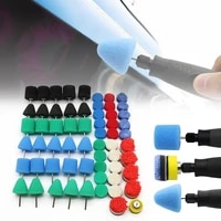 mini polishing kit for car beauty detailing polisher with extention tools car polishing pads kit for rotary polisher support csv