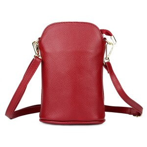 Novelty Fashionable Mobile Phone Bag Women's Straddle Satchels Simple Leather Soft Cow Small Shoulder Handbags Luxury Designer