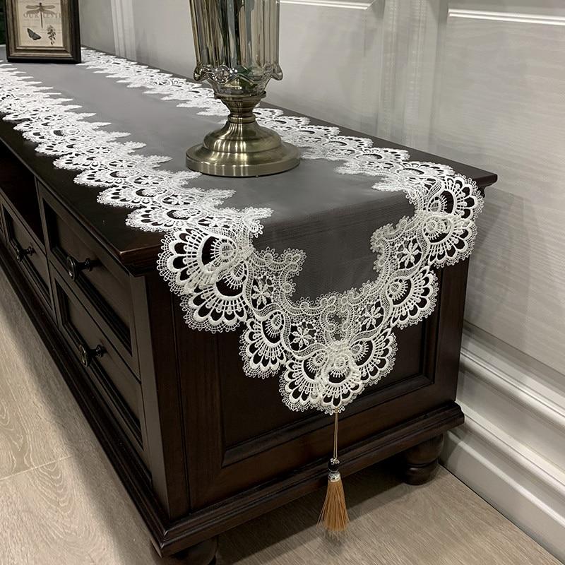 مفرش طاولة للزفاف ، على الطراز الأوروبي الكلاسيكي الجديد ، للقهوة الغربية ، خزانة أحذية بعلم ، ديكور