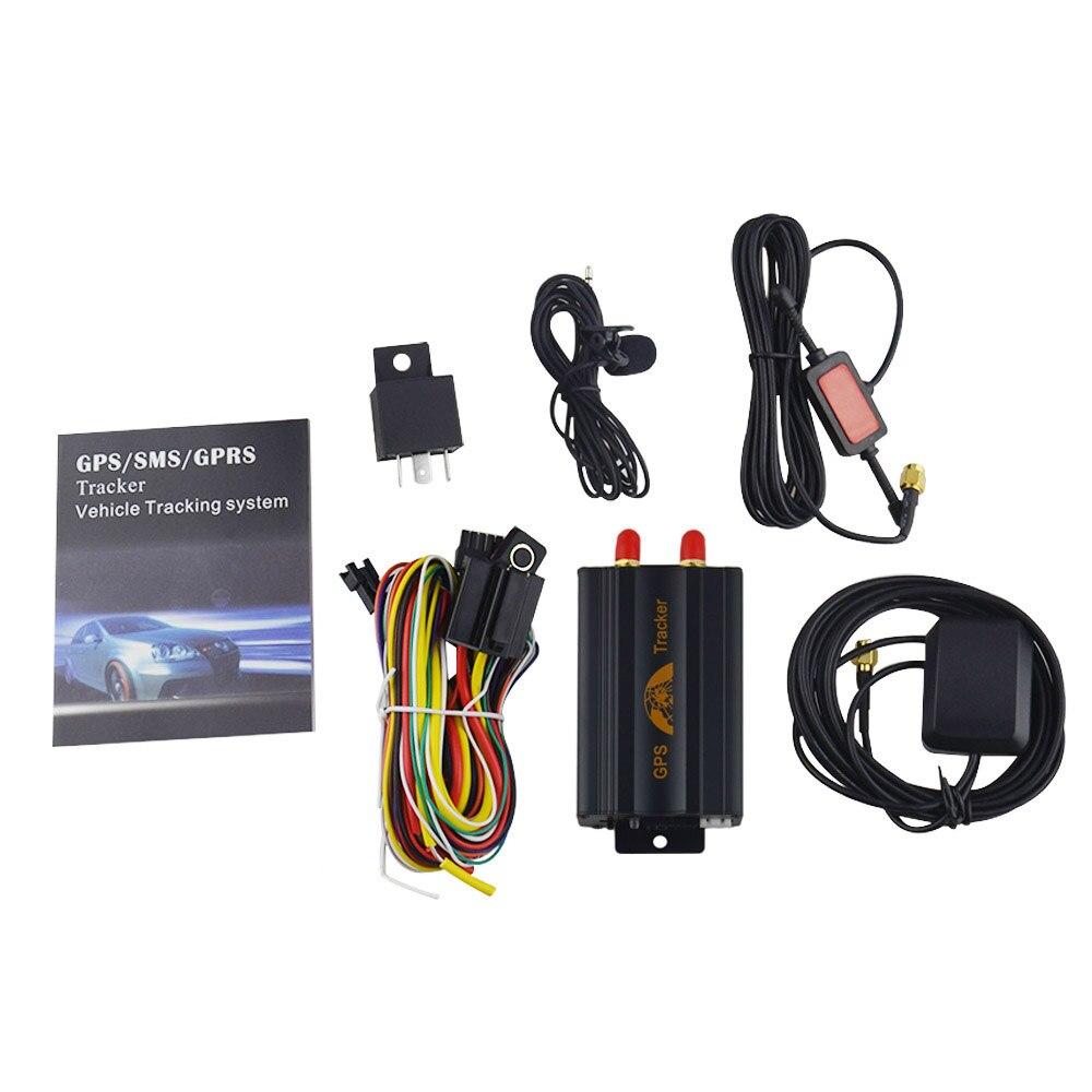 COBAN GSM/GPRS takip araç araba GPS Tracker tk103a TK103 GPS103A gerçek zamanlı izci kapı şok sensörü ACC alarm