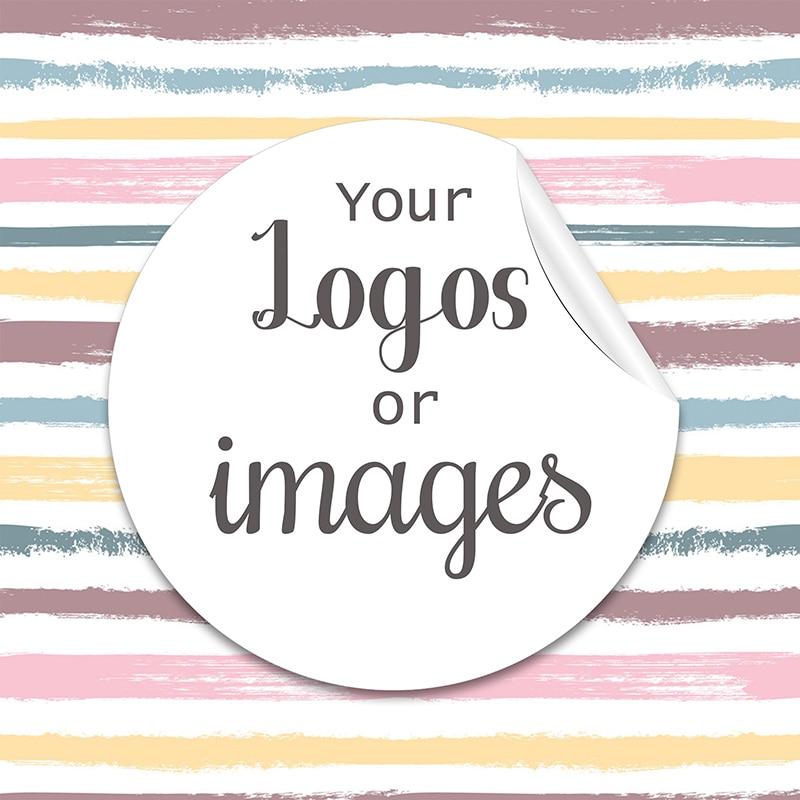 Etiqueta feita sob encomenda de 3.5/4.5/6cm e etiquetas personalizadas do baptismo dos aniversários do casamento dos logotipos projetam suas próprias etiquetas personalizam etiquetas