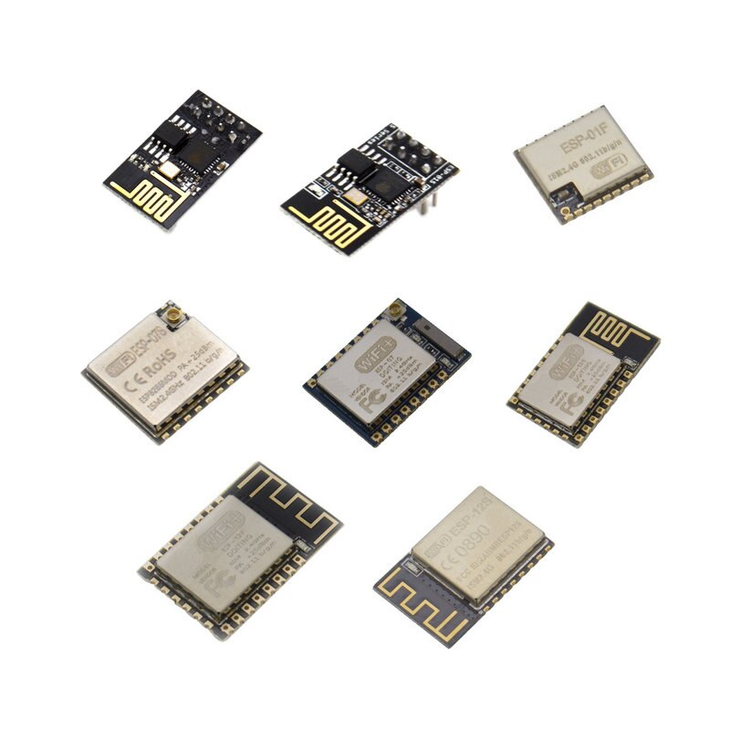 ESP8266 ESP-01 ESP-01S ESP-01F ESP-07 ESP-07S ESP-12 ESP-12E ESP-12F ESP-12S serial WIFI wireless module wireless transceiver недорого