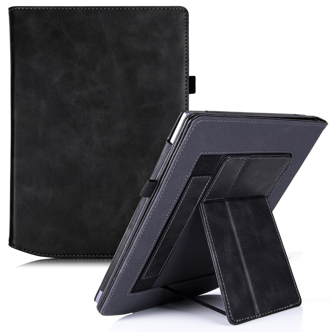 Aroita caso para pocketbook inkpad x 2020, portátil handheld suporte capa protetora com sono automático/wake caso de modo suporte duplo