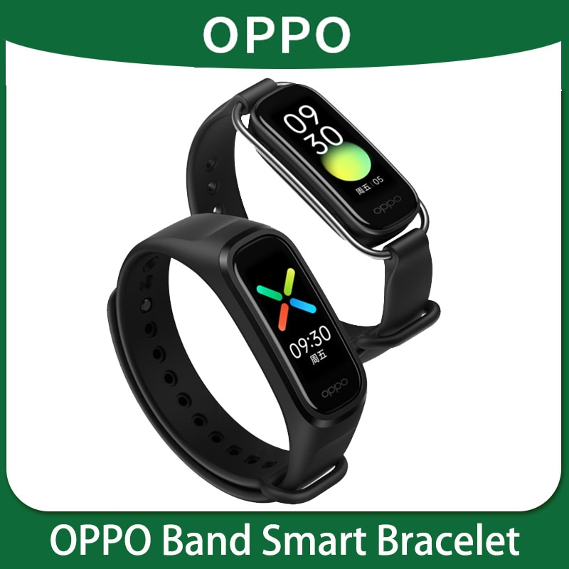 OPPO Band Bluetooth sports bracelet, running record swimming heart rate sleep waterproof oppo smart bracelet