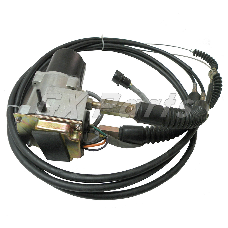 Acelerador nuevo Motor 7Y-3913 7Y3913 247-5227 Cable doble para Caterpillar CAT excavadora E330L E320 E330 E325 Motor 3066