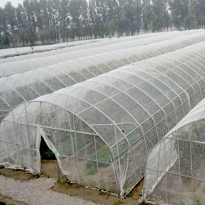 5m 100 malla red de Control de plagas vegetales frutas plantas cuidado cubierta de invernadero protección de mosquitos Aphids plagas rechazar red
