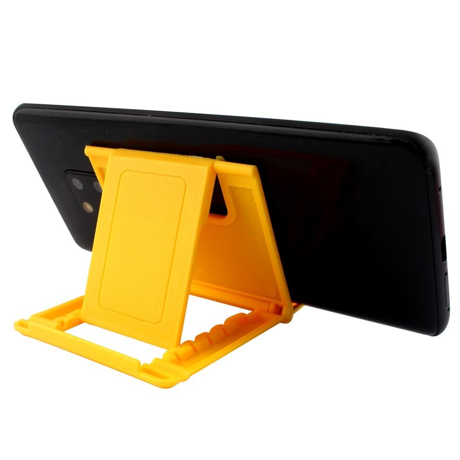 Soporte de escritorio para teléfono móvil de trípode de plástico plegable para iPhone Xsmax Huawei P30 Xiaomi Mi 9