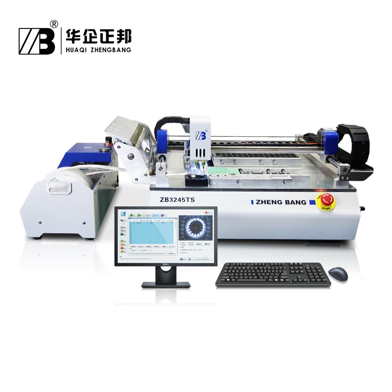 Led Light Assembly Line Small SMT Machines Automatic chip mounter /smt pick and place machine