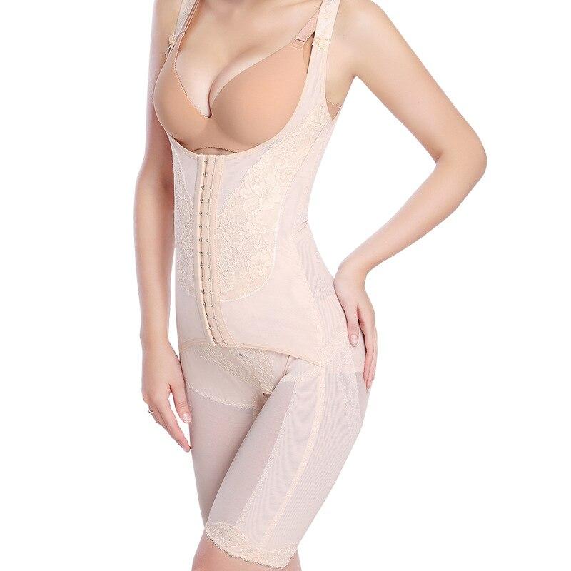 Женский корсет для коррекции фигуры, Утягивающее нижнее белье с магнитной талией