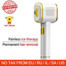 Osenyuan T023C Permanent Hair Removal The World First Intelligent Skin Detection Laser Epilator Ice