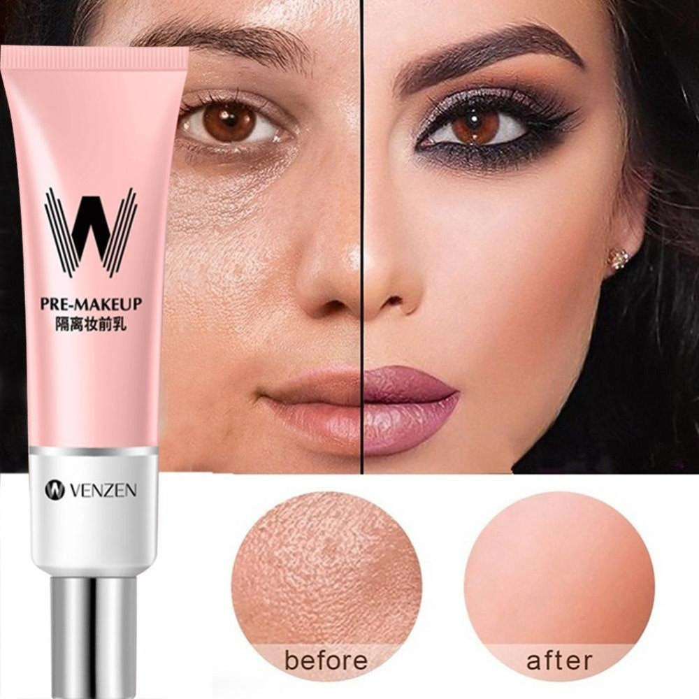 Maquillaje Invisible poros de Primer poro desaparecerá la cara control de aceite Base de maquillaje Base para rostro Base