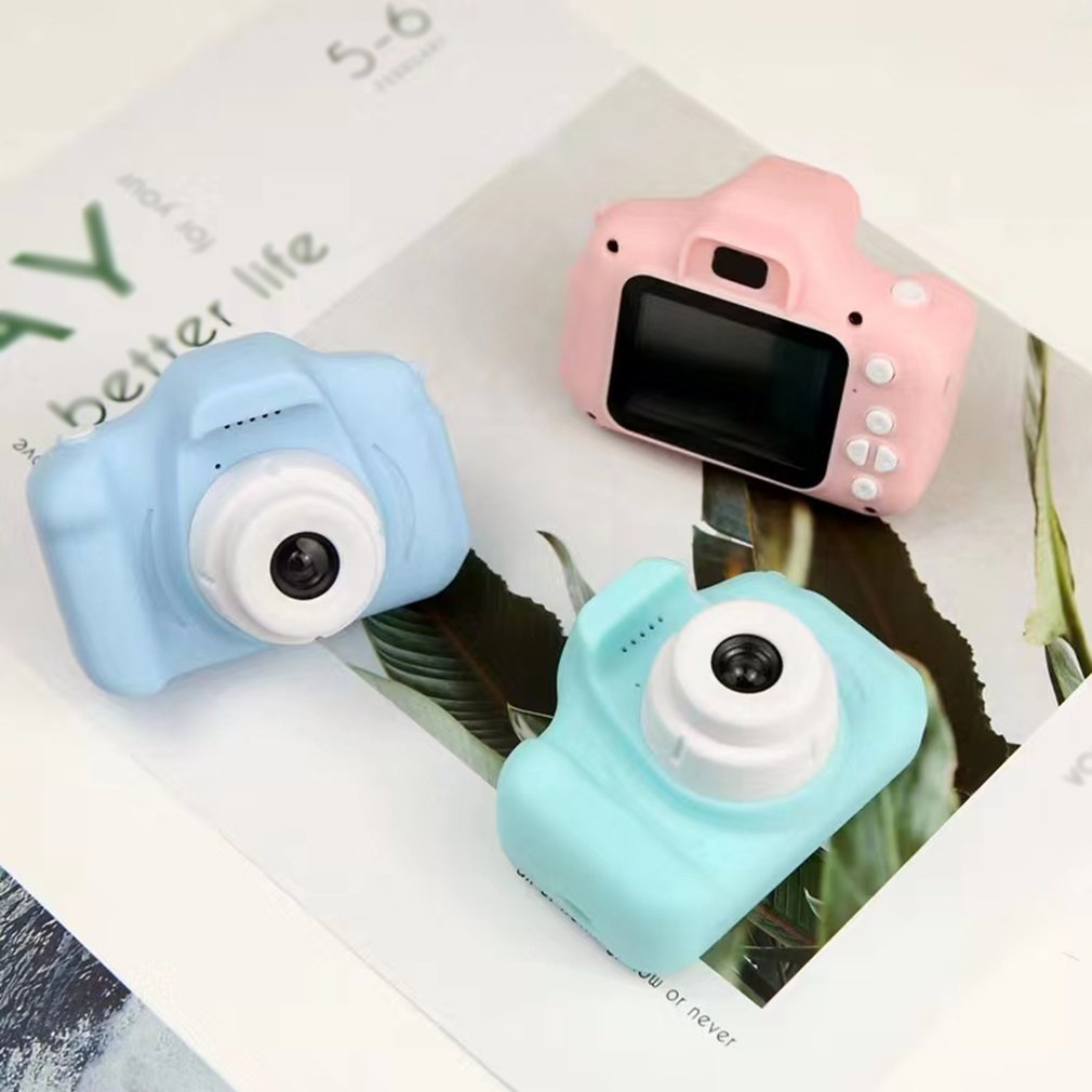 1080P HD Screen Children's Digital Camera with 8g Memory Card Photo Video Cute Camera Multifunctiona