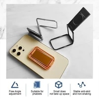 adjustable cell phone stand universal mobile phone holder adjustable rotating mobile phone lazy stand portable desktop stand sma