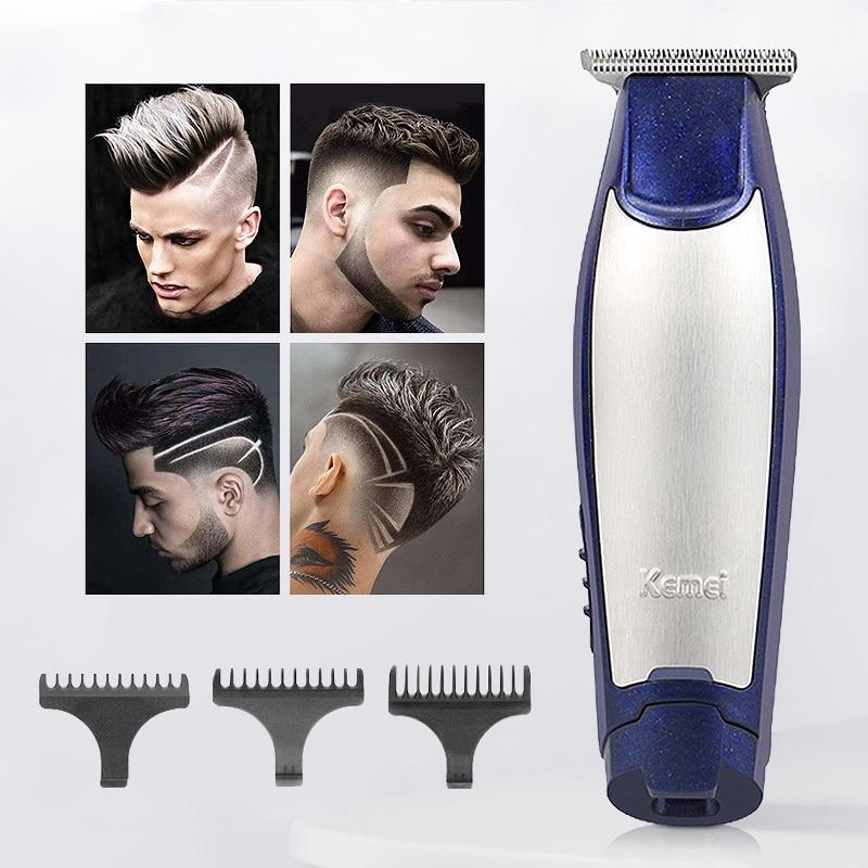 Professional Hair Clippers Home Barber Haircut Men Cordless Bladhead Hair Trimmer Sculpture Cutter Shaving Machine USB Charging enlarge