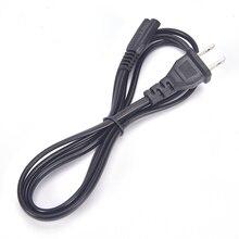 2 Pin AC Plug Power Cable Cord 8 C7 To Euro Eu European For Cameras Printers Notebook EU Power Cable Cord Figure Cables