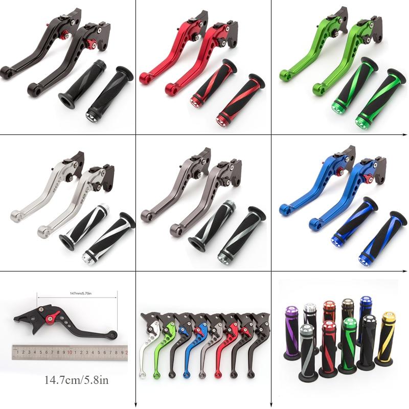CNC Apertos de Mão Ajustável Motorcycle Brake Clutch Lever Set Para Honda CB 500/S/Copo PC32 CB500 1997 -1999 1998
