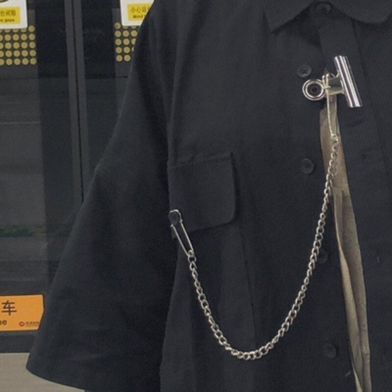 Cadena de cintura con clip para múltiples usos, colgante de calle, Joker, disco, pantalones de baile, cadena de traje XL240
