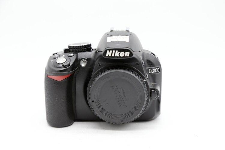 كاميرا نيكون طراز D3100 14.2 ميجابيكسل DX مستعملة طراز CMOS بمستشعر 1080p HD DSLR