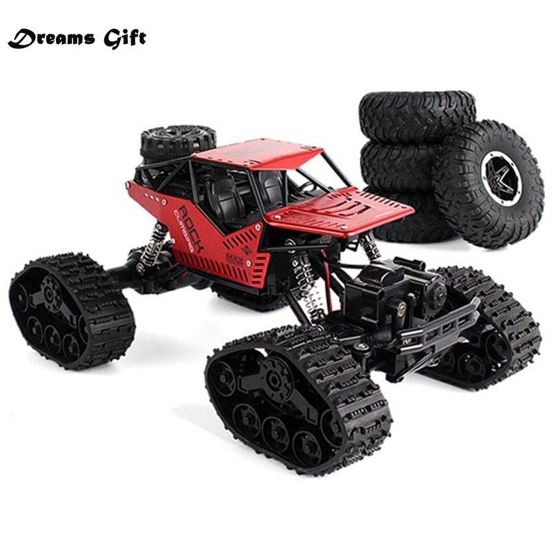 Carro elétrico rc rock crawler, controle remoto, brinquedos, mudança de pista, pneu, rádio-controlado, carros, presentes, brinquedos para meninos, rc roda de engatinhar