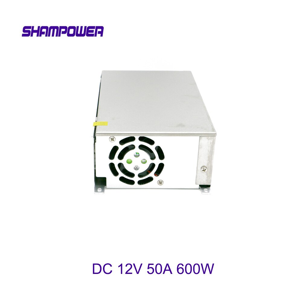 DC 12V fuente de alimentación grande 600W 50A AC 110V/220V a DC 12V interruptor fuente de alimentación adaptador de seguridad fuente de alimentación para tira de luz LED
