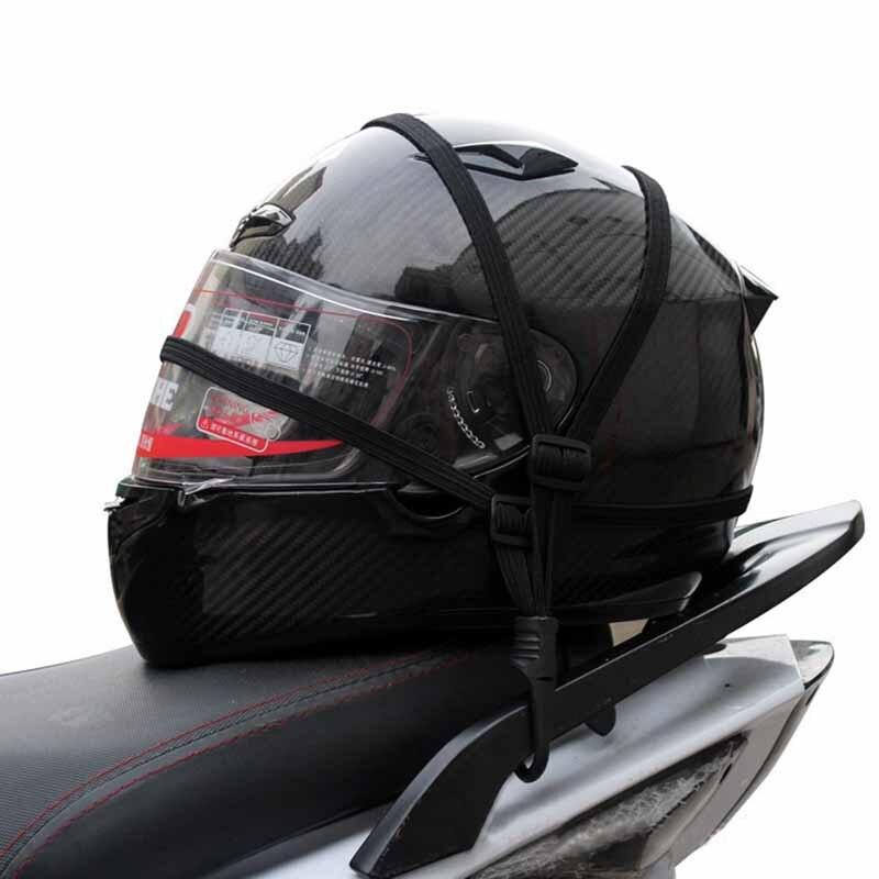 Motorcycle Luggage Helmet Mesh Strap Fixed Elastic Rope Net Bandage for BMW F800GT F800R F800S F800ST HP2 EnduRo HP2 Megamoto