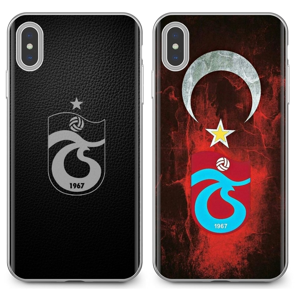 Slim suave de silicona TPU caso de teléfono para Samsung Galaxy nota 2 3 4 5 8 9 S2 S3 S4 S5 Mini S6 S7 borde S8 S9 más Trabzonspor