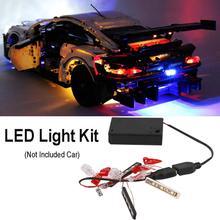 2020 NEW DIY Light Up Kit Compatible for 42096 Technical Series Porsche 911 RSR Lighting blocks