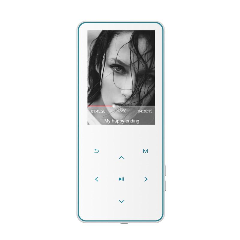 New Metal Original bluetooth MP4 Player 2.4inch built-in Speaker 16G 32G 64G HiFi portable walkman with e-book adio FM recording enlarge