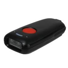 Bluetooth 1D CCD código de barras/2D QR escáner portátil con cable/almacenamiento inalámbrico manual Mini lector de código de barras luz roja Windows/iOS/Android