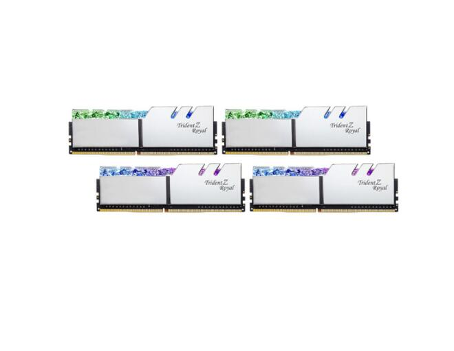 G. habilidade 64gb (16gx4) conjunto ddr4 3600mhz módulo de memória desktop/royal halberd (prata) c18 F4-3600C18Q-64GTRS