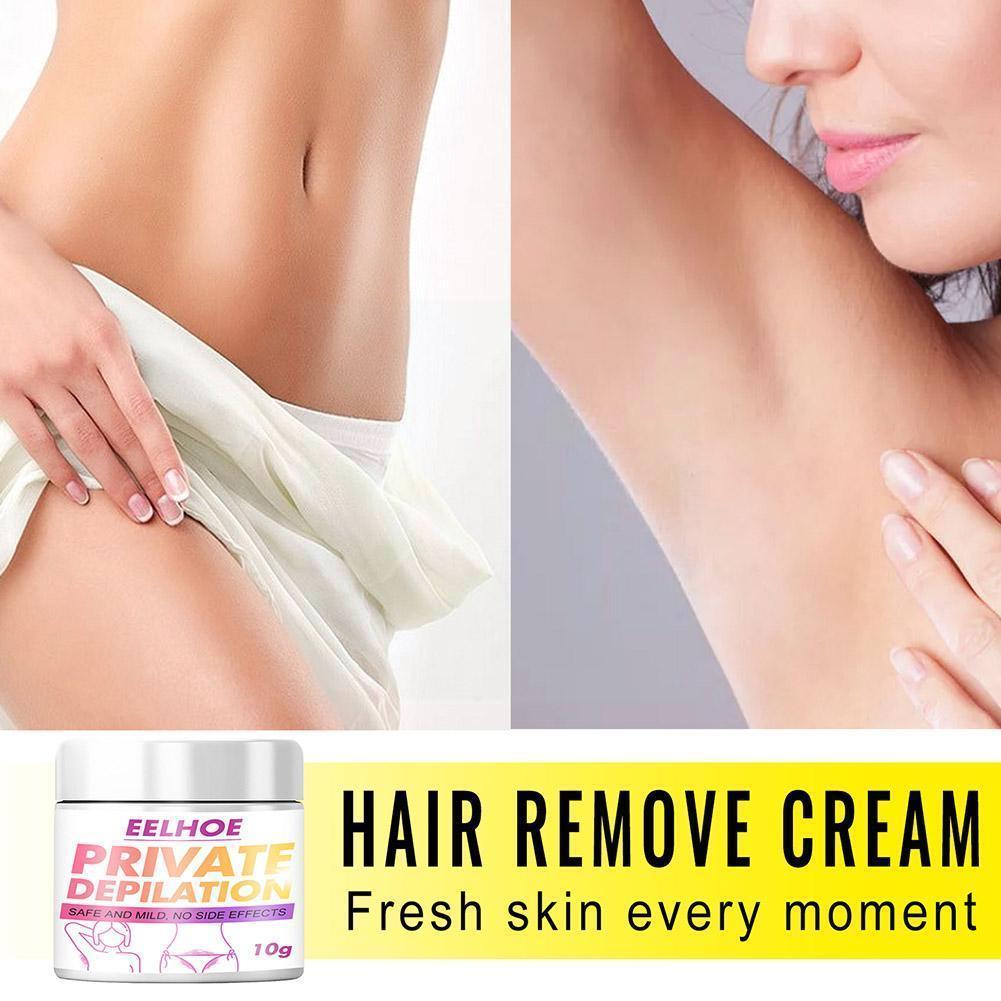 Мягкий крем для удаления волос в подмышках, частные части, не вызывающая раздражения депиляция, питает естественный ремонт тела, гладкое ли...