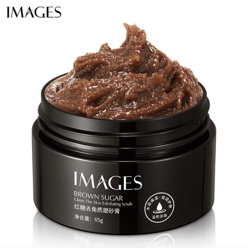 Crema exfoliante corporal para el cuidado de la piel, gel facial de...