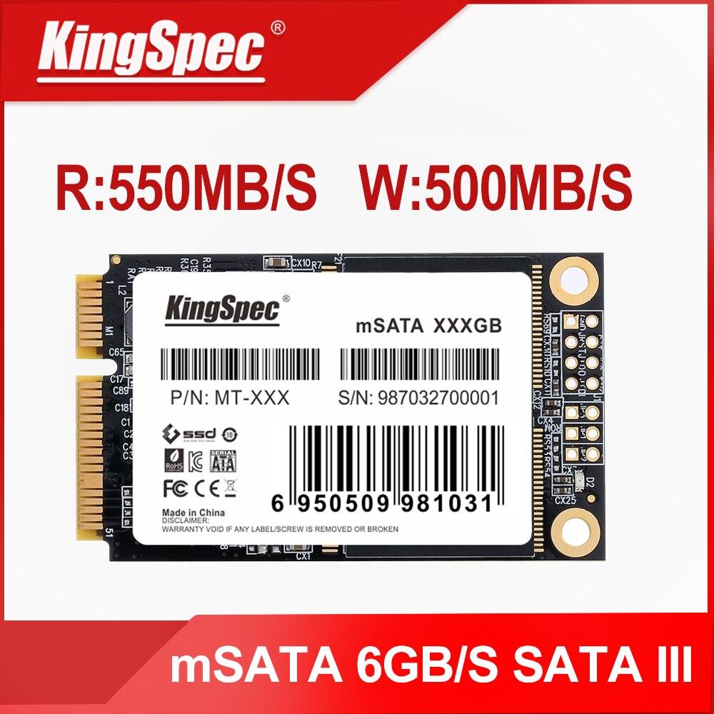KingSpec mSATA SSD Solid State Disk SATA III 64gb 120gb 128gb 240gb 256gb 500gb 512gb 1tb ssd Hard D