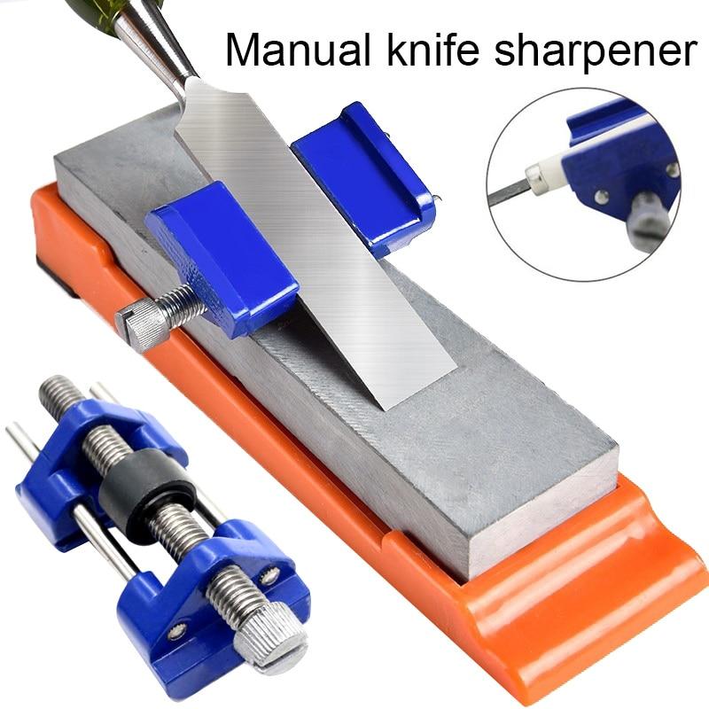 Afilado de cincel de madera de Metal plano cepilladores de hierro cuchillas de afilar accesorios de herramienta nuevos para la carpintería